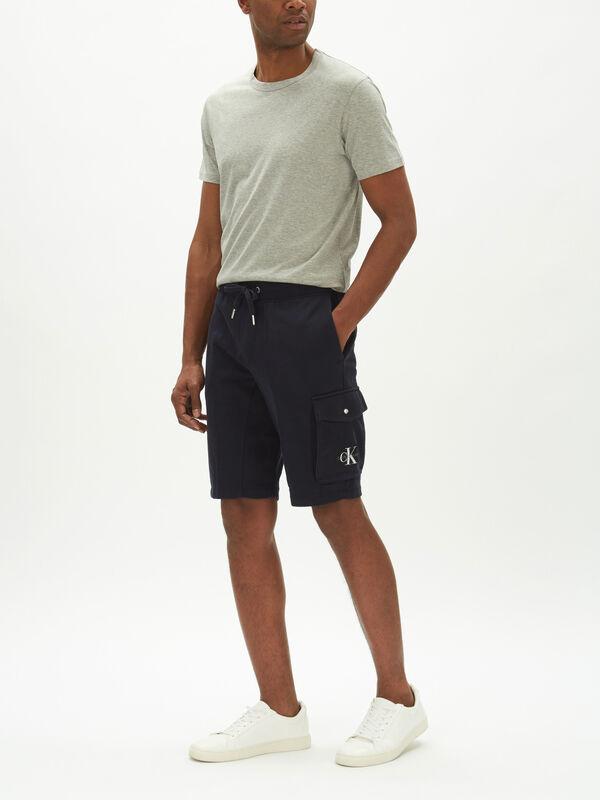 Monogram Patch Shorts