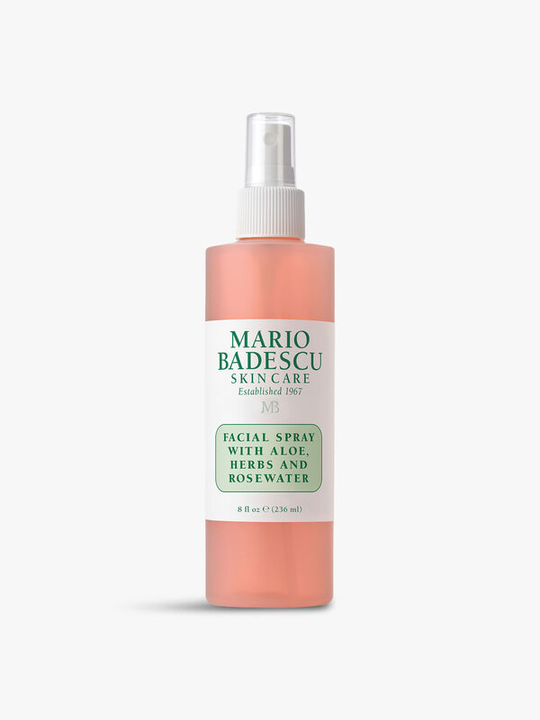 Facial Spray with Aloe Herbs and Rose 236ml