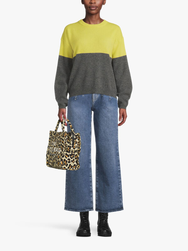 Nora Two Toned Cashmere Jumper