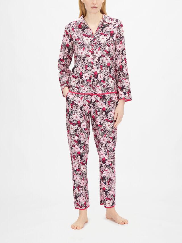 Ariana Pink Floral Print Top