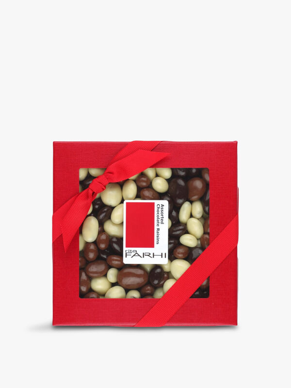 Assorted Chocolate Raisins 250g