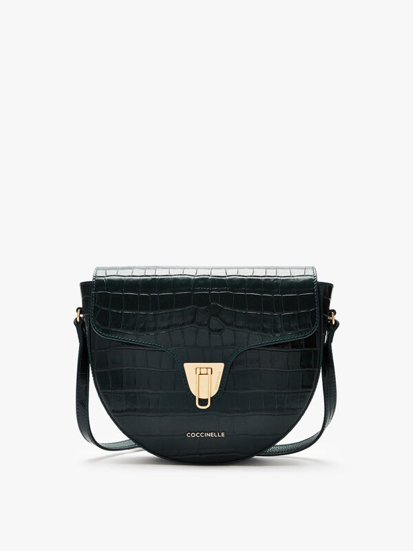 Beat Croco Shiny Soft Crossbody