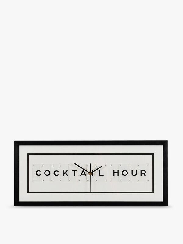 Coktail Hour Clock