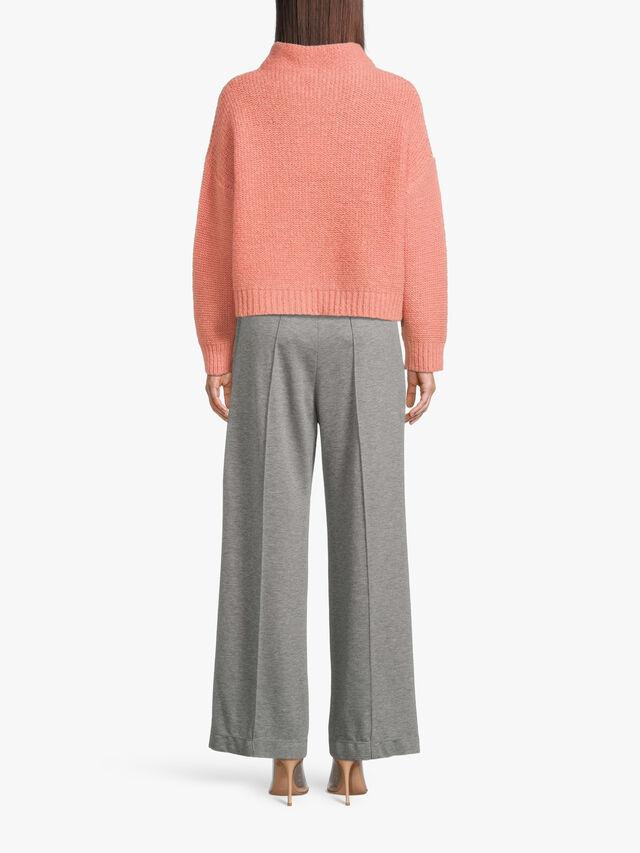 Funnel Neck Knit