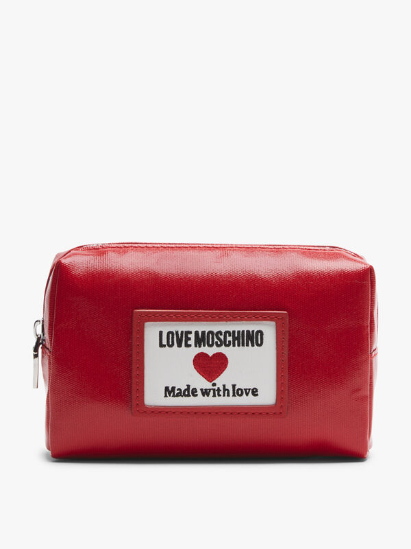 Love Moschino Canvas Pouch