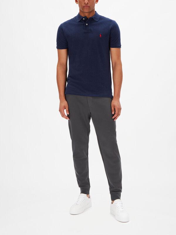 Basic Mesh Short Sleeve Custom Fit Polo