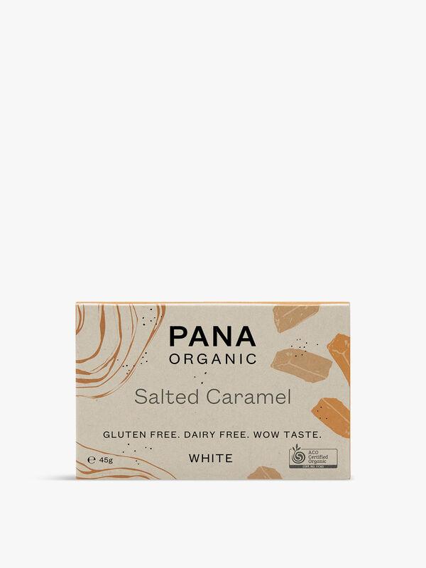White Chocolate Salted Caramel Bar 45g