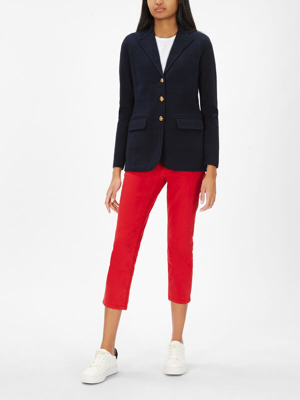 Ayelee Cotton Blazer