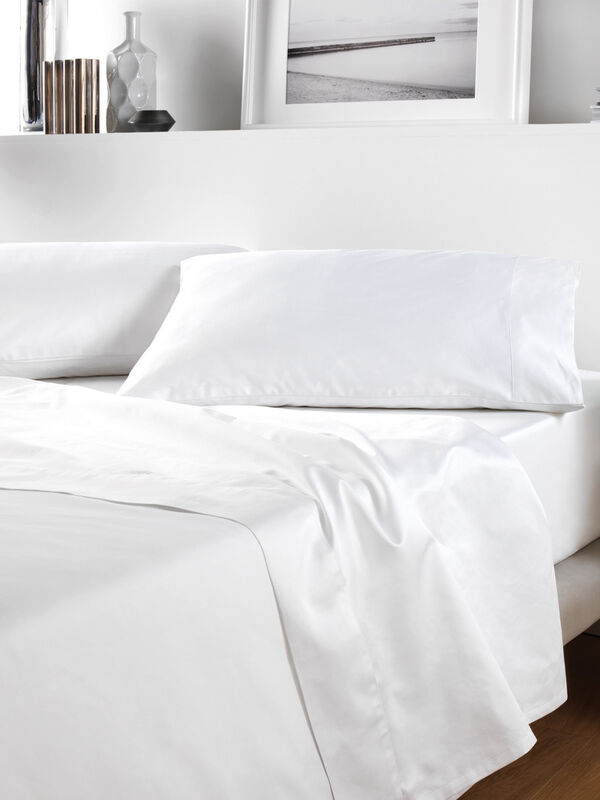 500 TC Sateen Plain Dye Duvet Cover