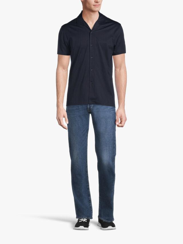 CASPA Mercerised Cotton Jersey Shirt