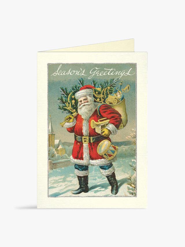 Vintage Santa Boxed Cards
