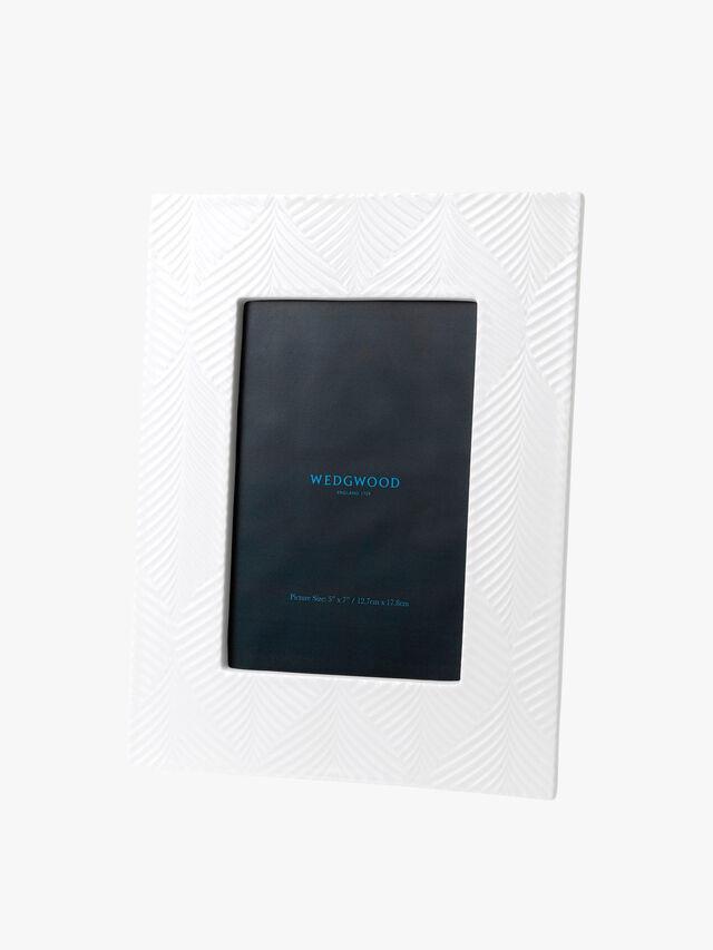 White Folia Frame