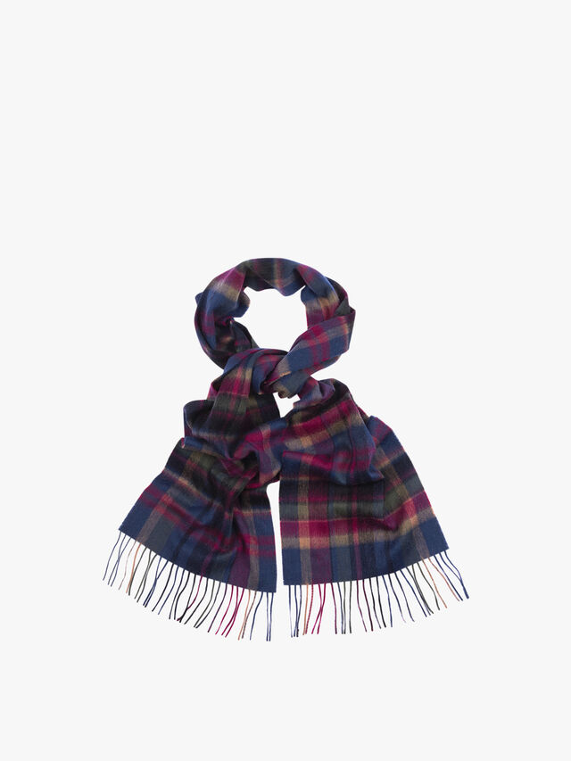 Vintage Winter Plaid Scarf