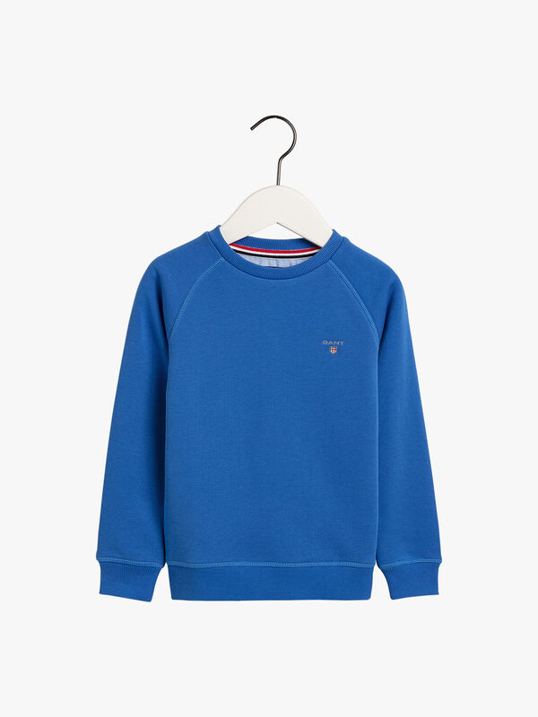 Crew Neck Small Shield Sweat