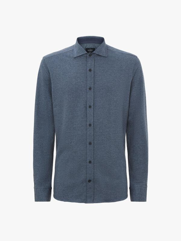 Herringbone Jersey Shirt