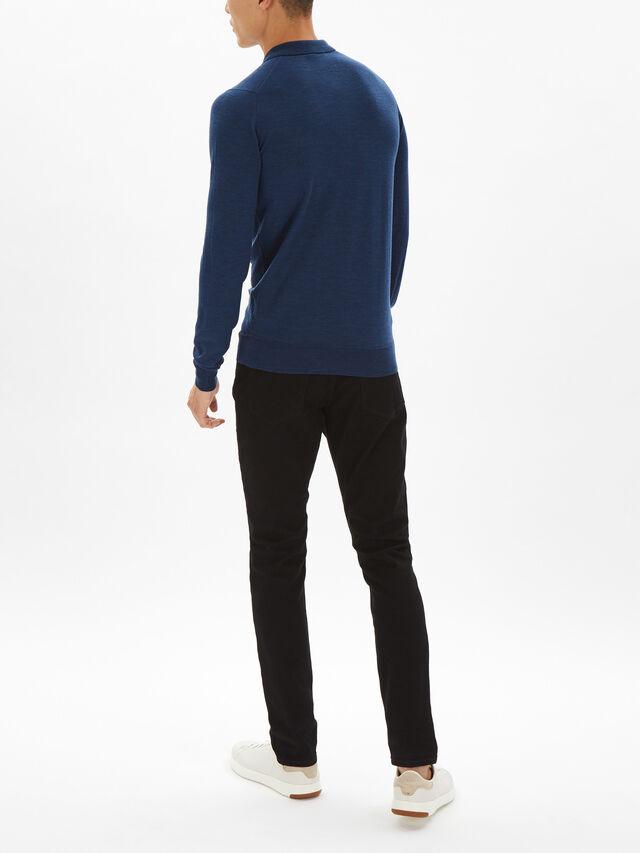 Belper Long Sleeve Polo