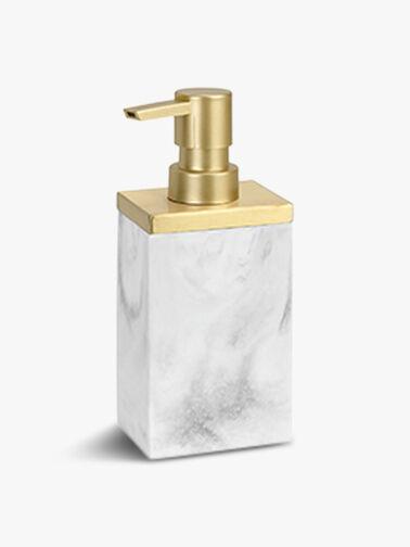 Marble Brass Soap Dispenser