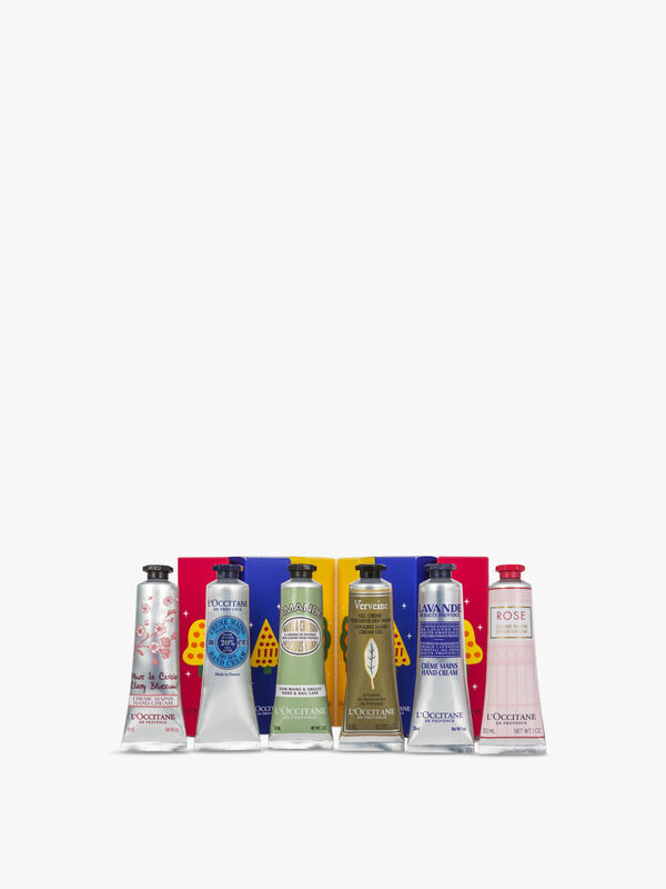 6 Piece Hand Cream Collection