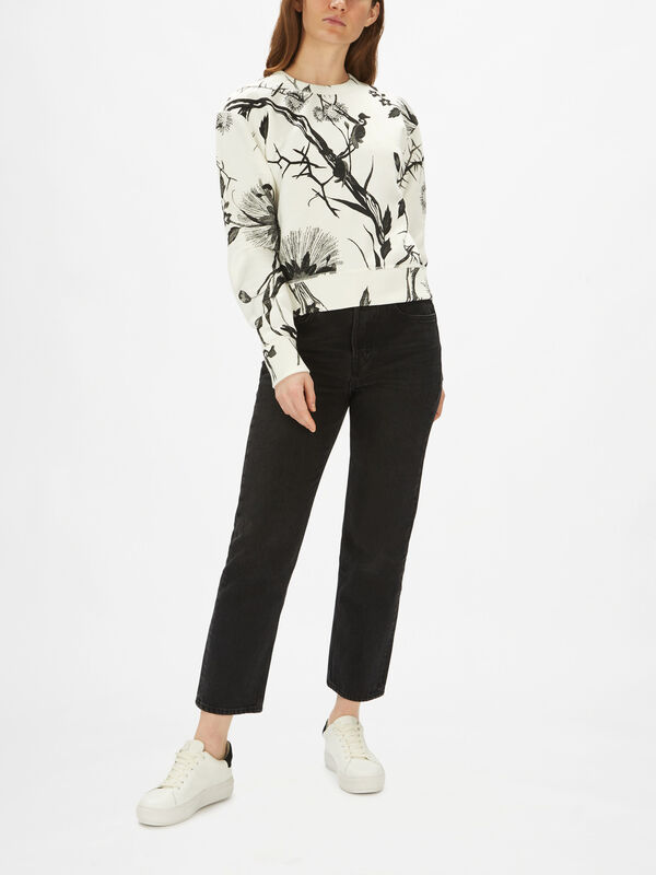 All Over Floral Sweatshirt