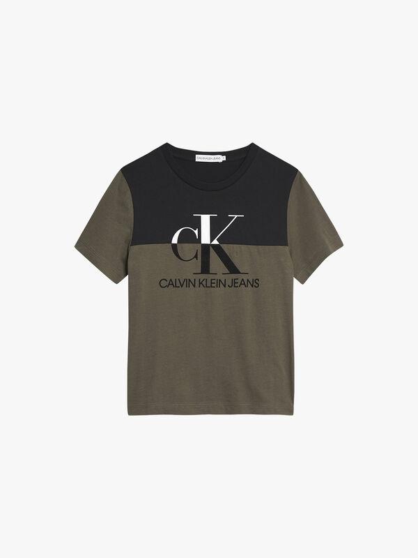 Monogram Colourblock T-Shirt