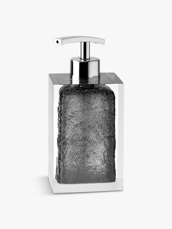 Ice Black Soap Dispenser