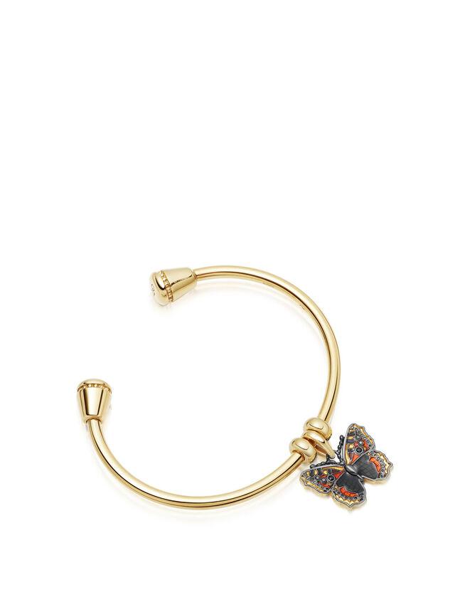 Small Tortoiseshell Butterfly Charm Pendant