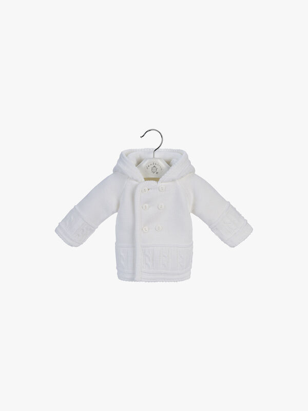 Double Knitted Hooded Jacket