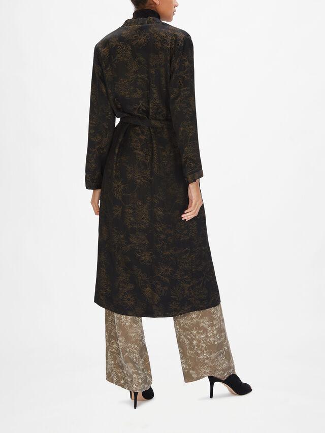 Eris Printed Coat
