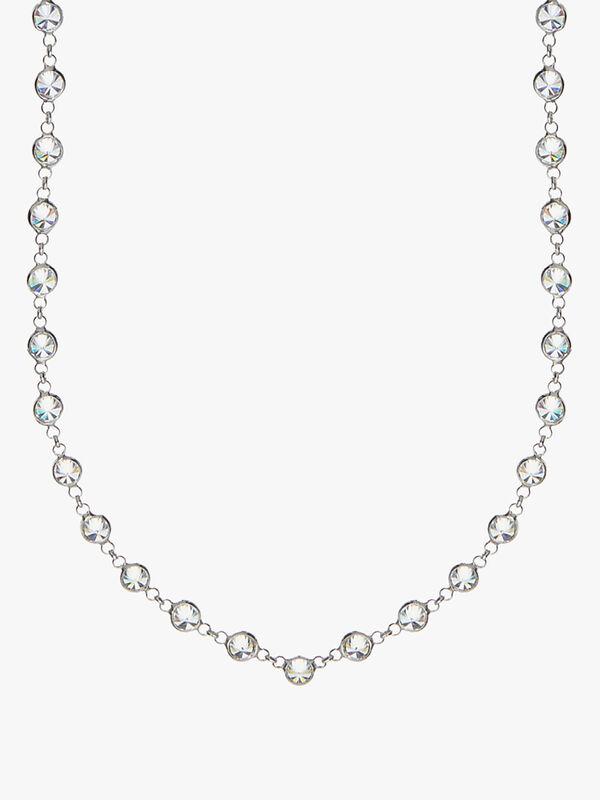 Mayfair Crystal Long Necklace