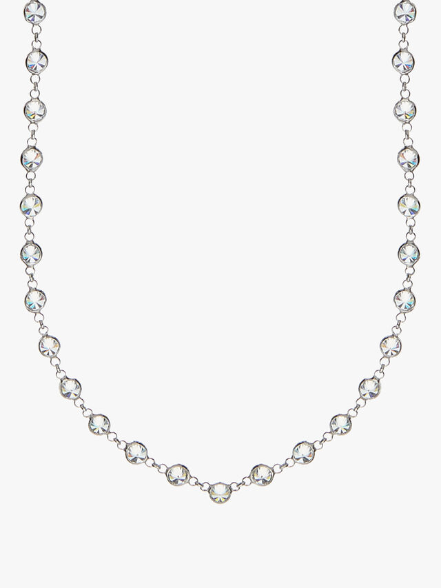 Mayfair Crystal Long Necklace