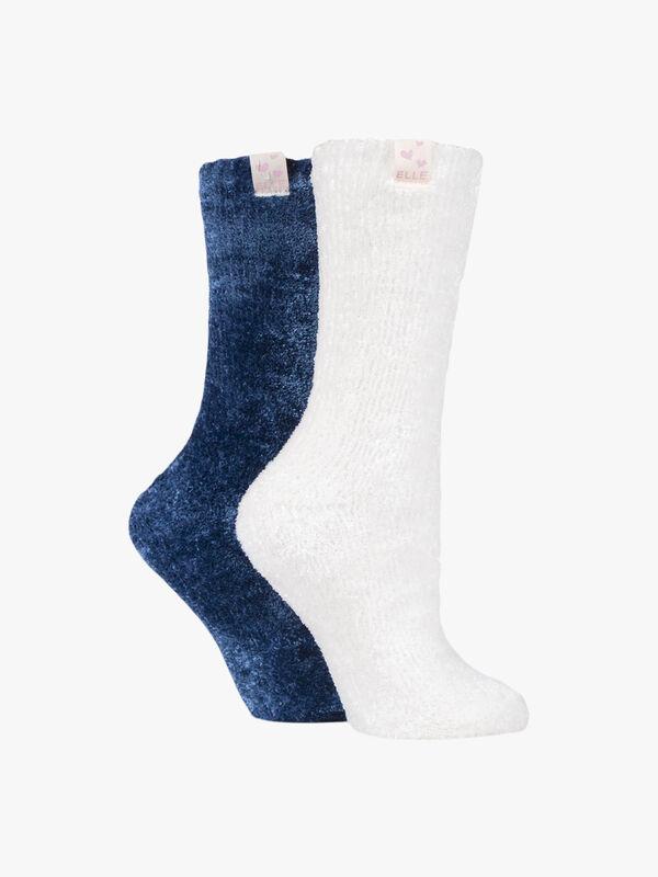 Luxurious Chenille Home Socks