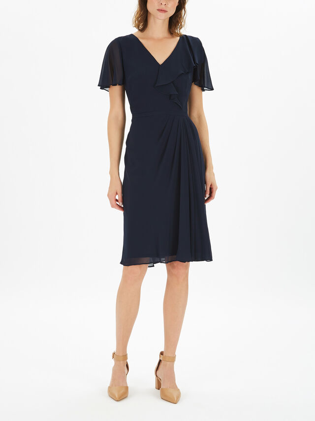Cutler Cap Sleeve Day Dress