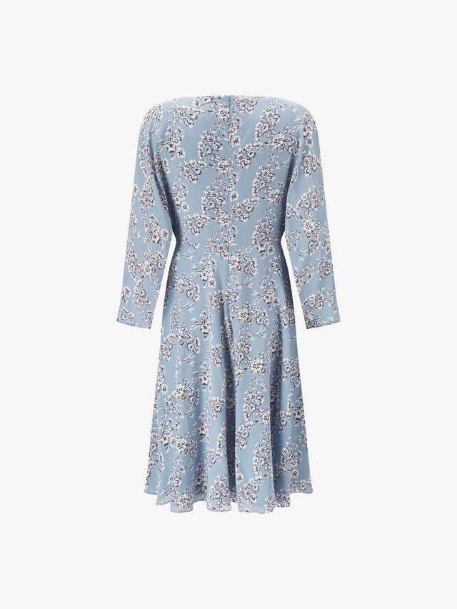 Ombrosa Floral Midi Dress