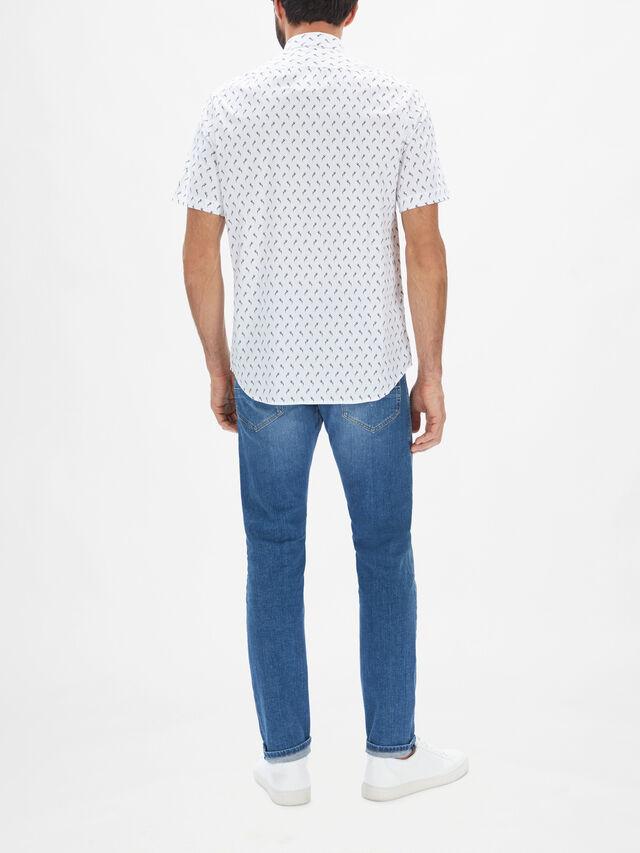S-Riley-Sho-Ka Printed Shirt