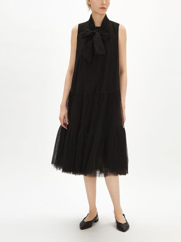 Tulle Peplum Dress