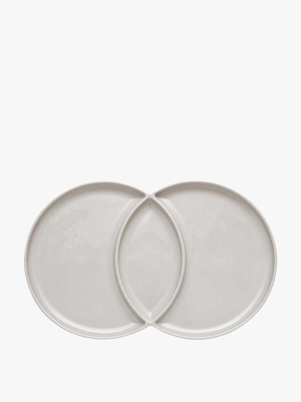 Loop Grey Platter