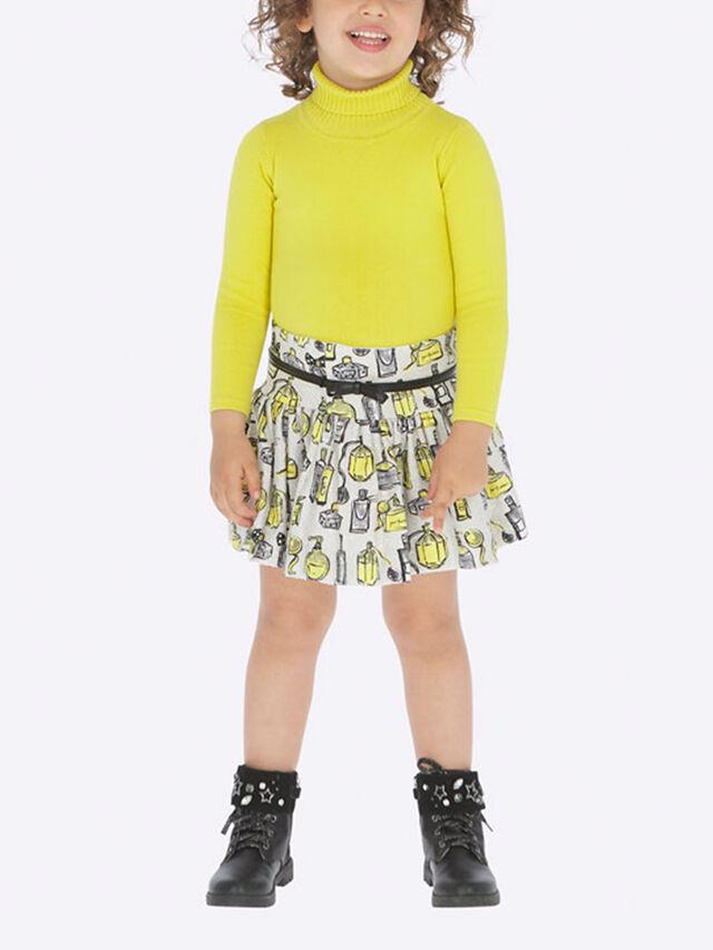 Patterned Print Skirt
