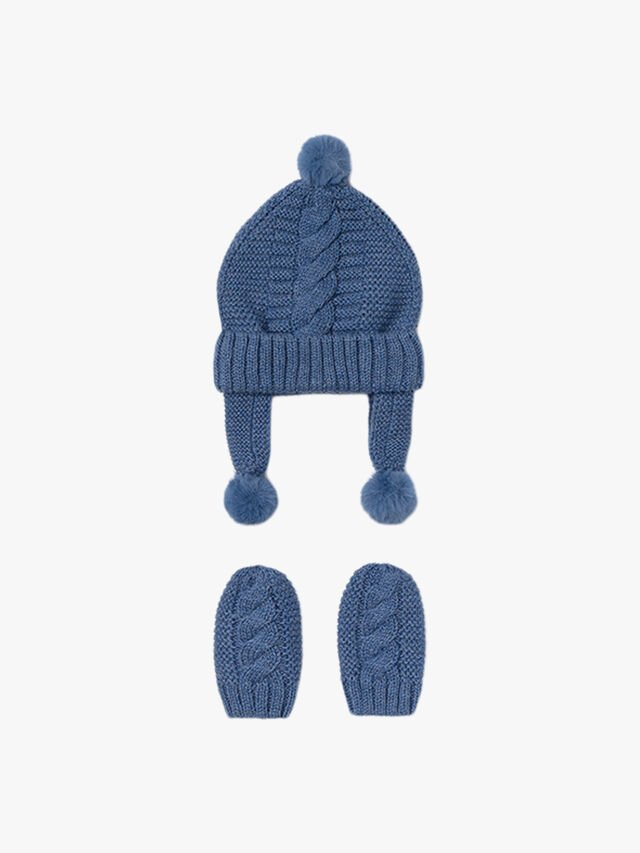 Hat and mittens set