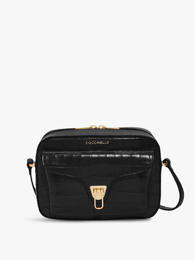 Beat Croco Crossbody Bag