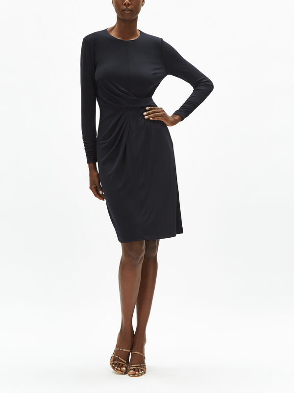 Winda Long Sleeve Jersey Dress