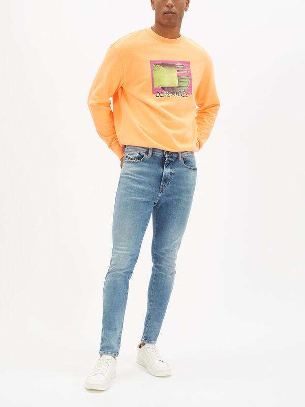 D-Istort Super Skinny Jeans