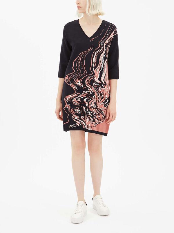 Diesis Pattern Dress