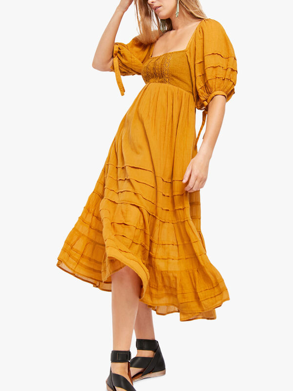 Lets Be Friends Midi Dress