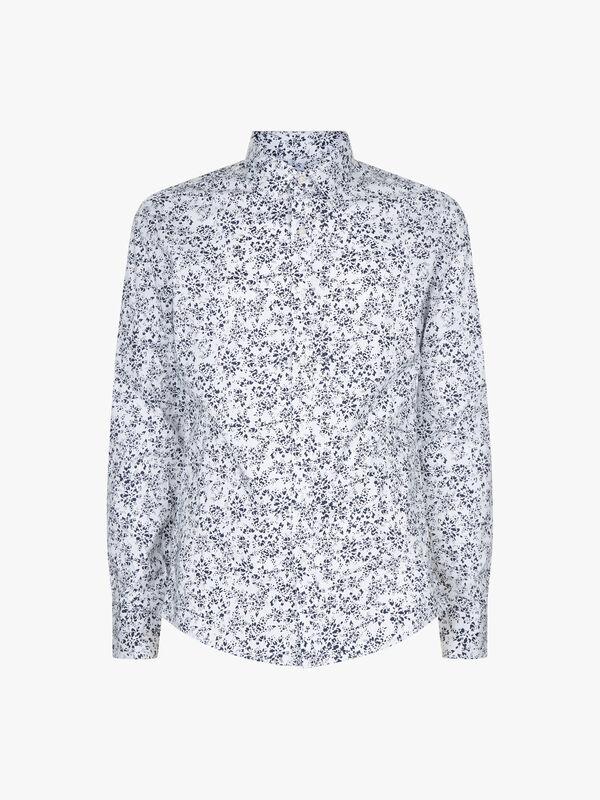 Slim Floral Print Shirt
