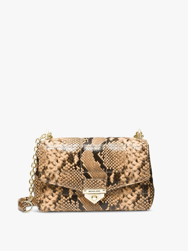 Soho Quilted LG Chain Shoulder