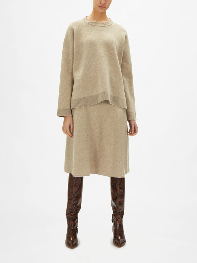 Moscova Reversible Wool Jumper