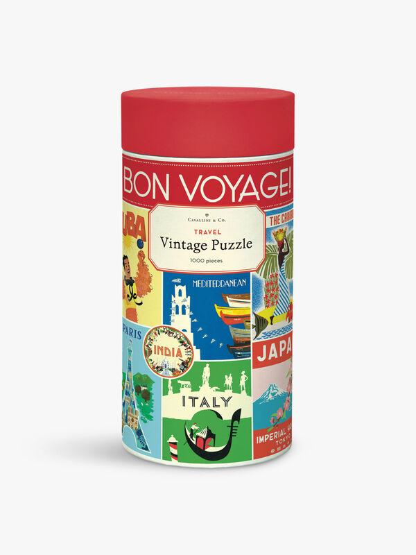 Vintage Puzzles 1000 Piece Travel