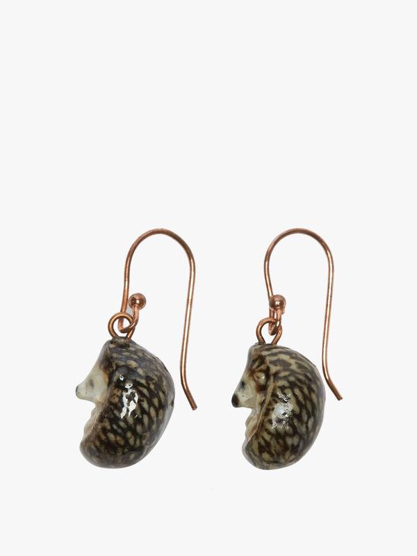 Hedgehog Drop Earrings