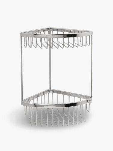 Classic Two Tier Corner Basket