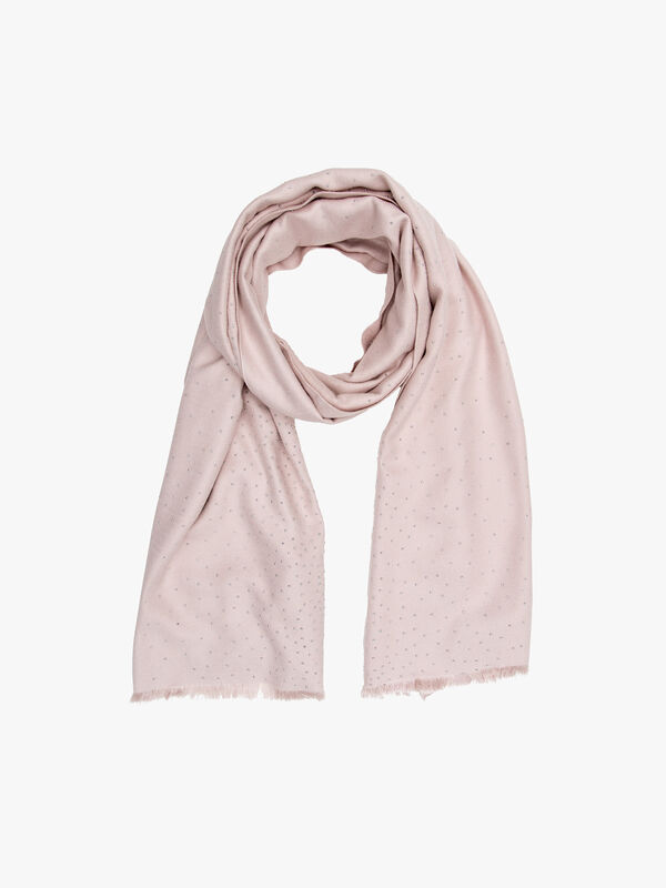 Graduated studs scarf